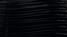 665 Волнистый черный глянец