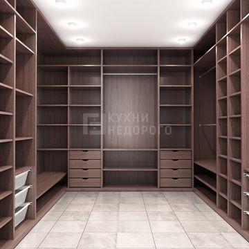 Гардеробная комната Камбрия