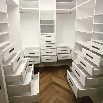 Гардеробная комната Питерсберг