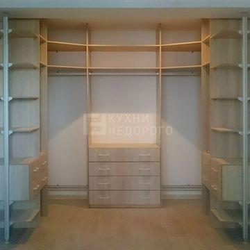 Гардеробная комната Кламат