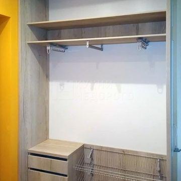 Гардеробный шкаф Томпо